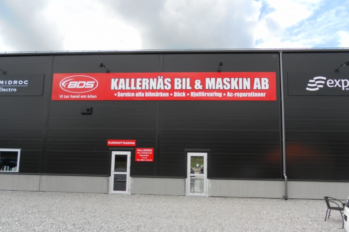 KALLERNÄS BIL & MASKIN AB